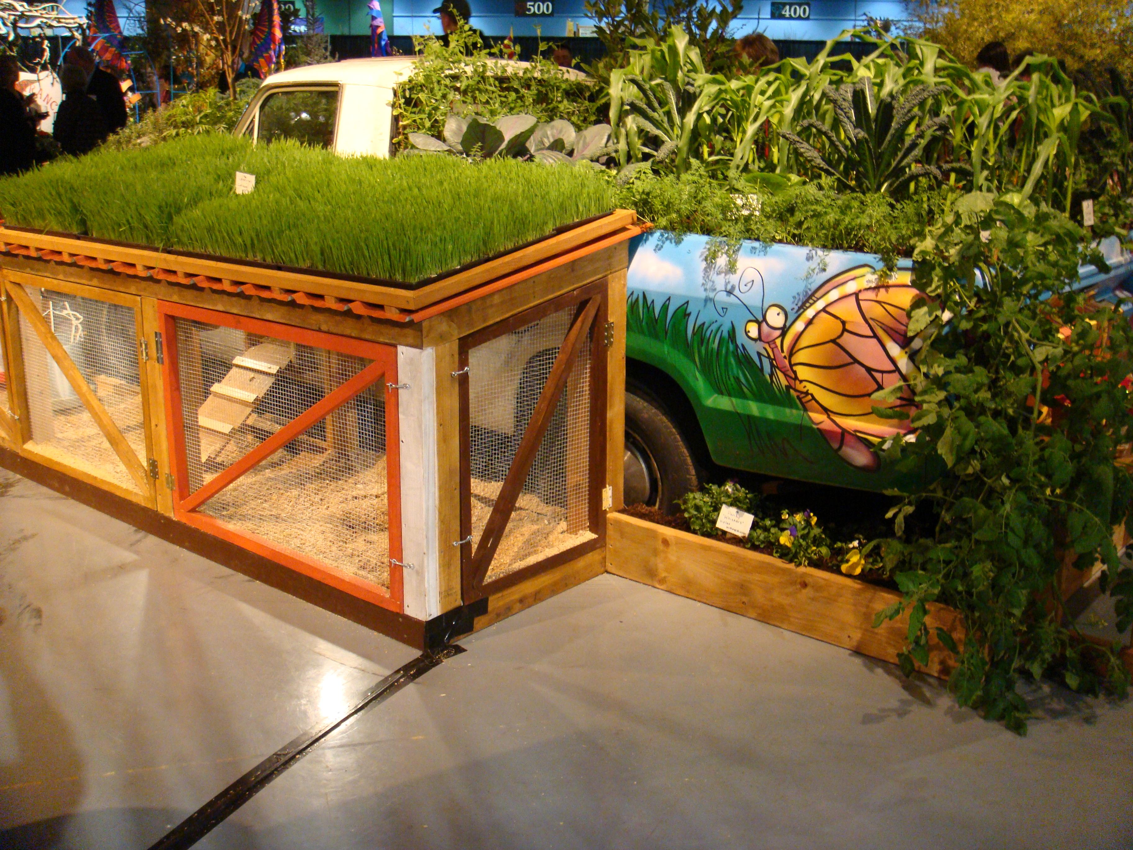 Display home garden designs - Though