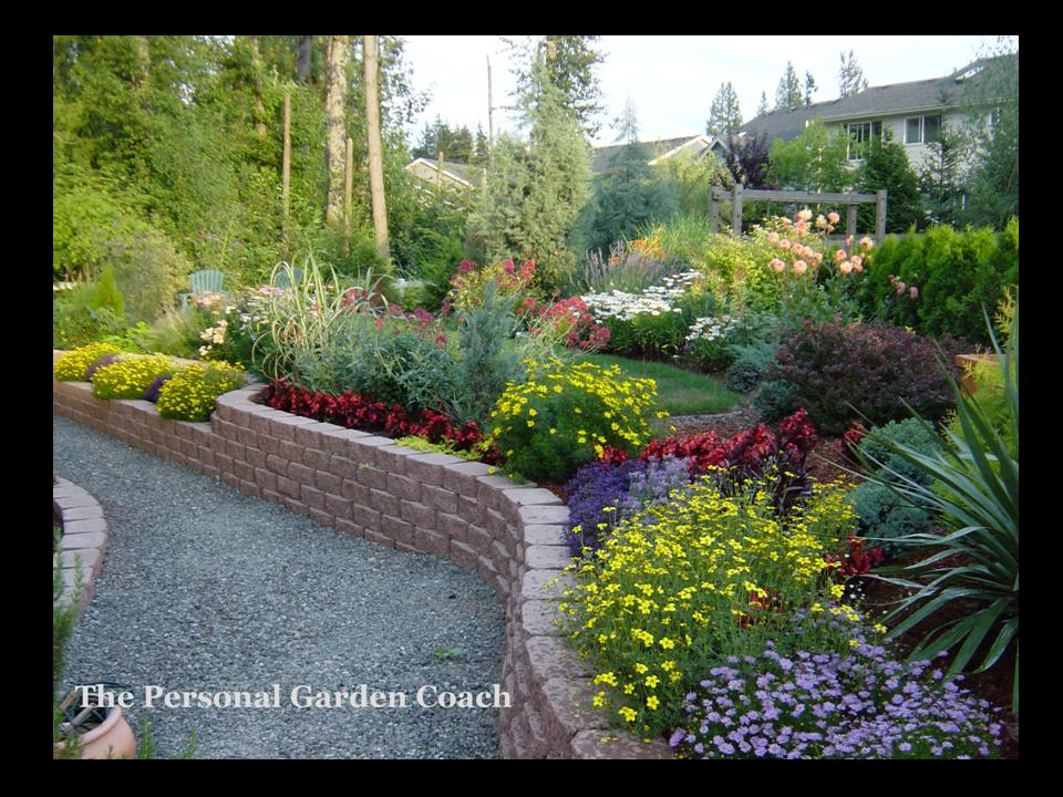 Landscaping ideas front yard steep slope pdf for Garden designs for steep slopes
