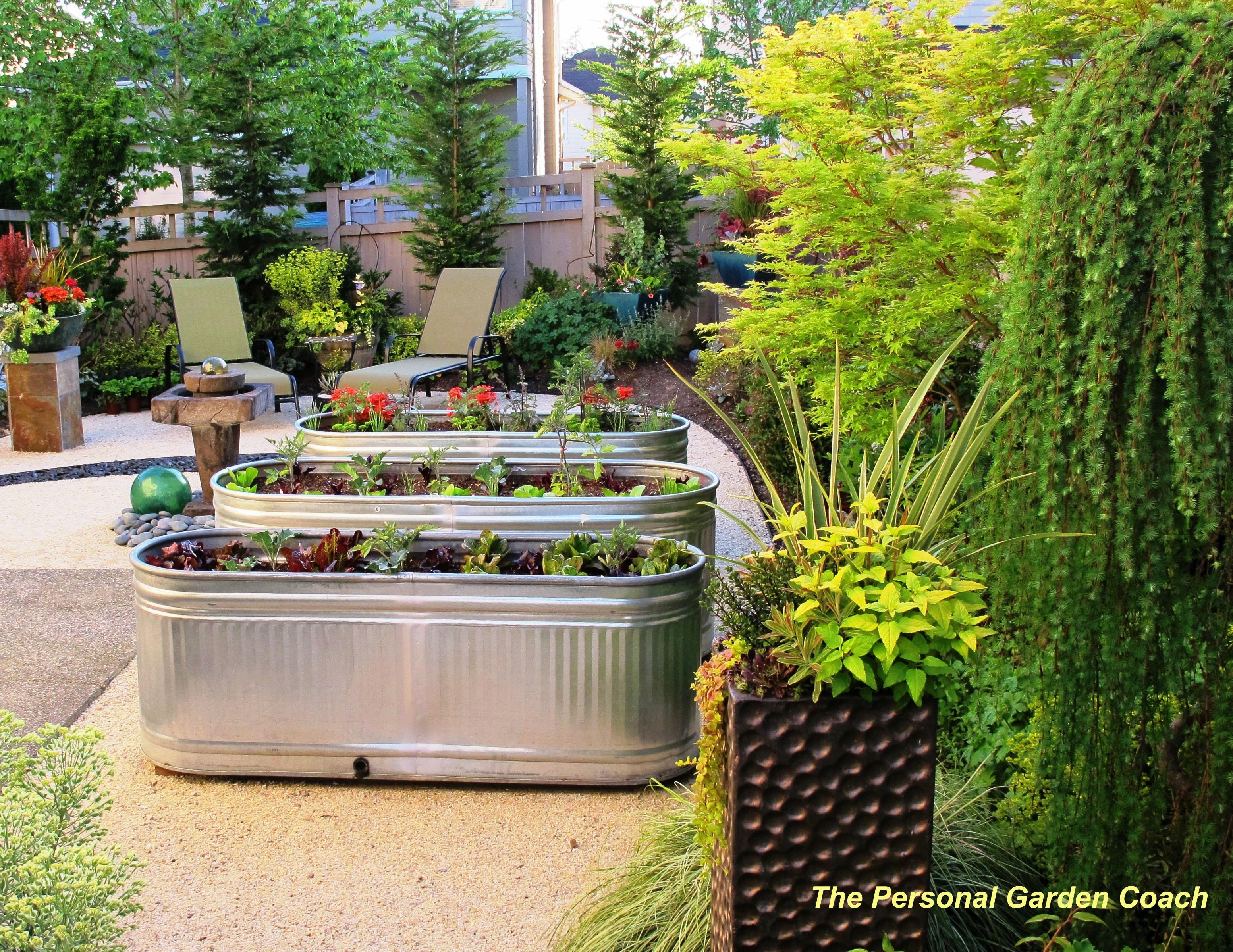 Awesome Garden Landscaping Ideas For Small Gardens: THE Personal Garden Coach